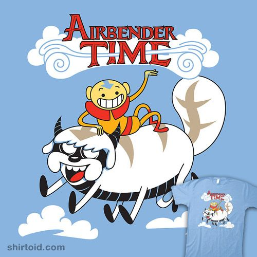 Avatar The Last Airbender meets Adventure Time