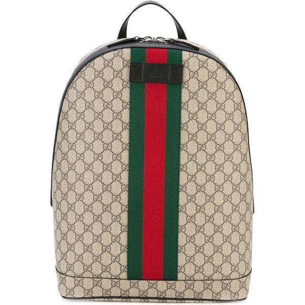 895b64f30dc3 Gucci GG supreme print backpack (58