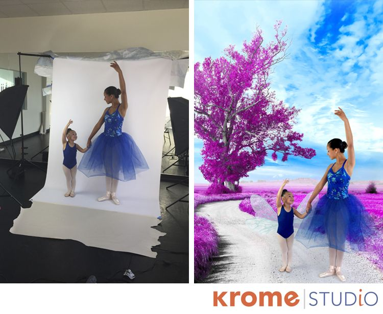Can we all just take a moment to appreciate the beauty of this photo? The older girl in the picture is Sophia, daughter of Krome user Carla Sams; pictured next to heris Nevaeh, daughter of Sophia'...