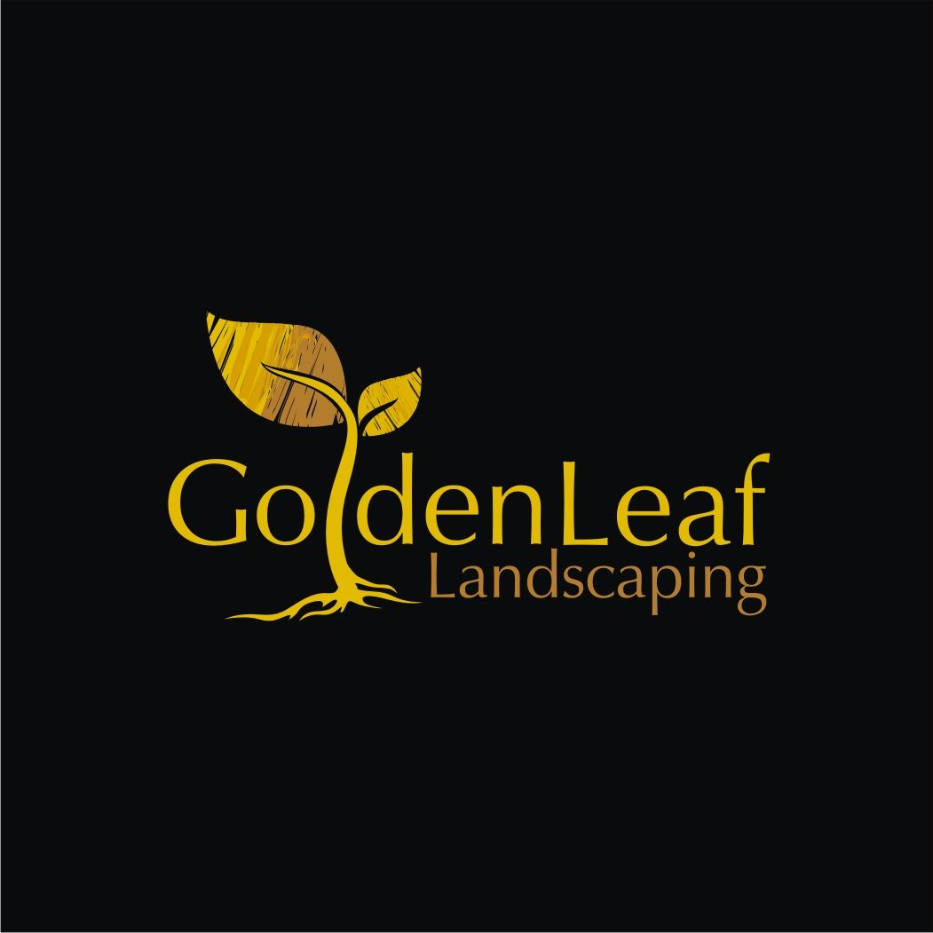 Golden Leaf - Landscaping - #Logo #Design US$75.00 | Garden Center ...