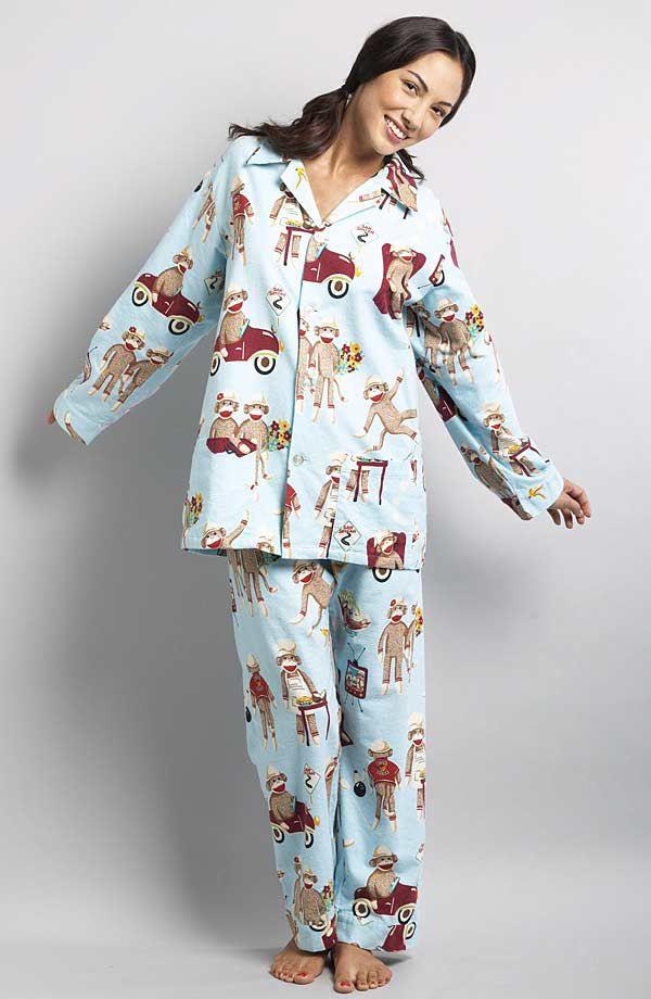 8bab41d1fa80 Nick & Nora Sock Monkey Pajamas | A Few of My Favorite Things ...