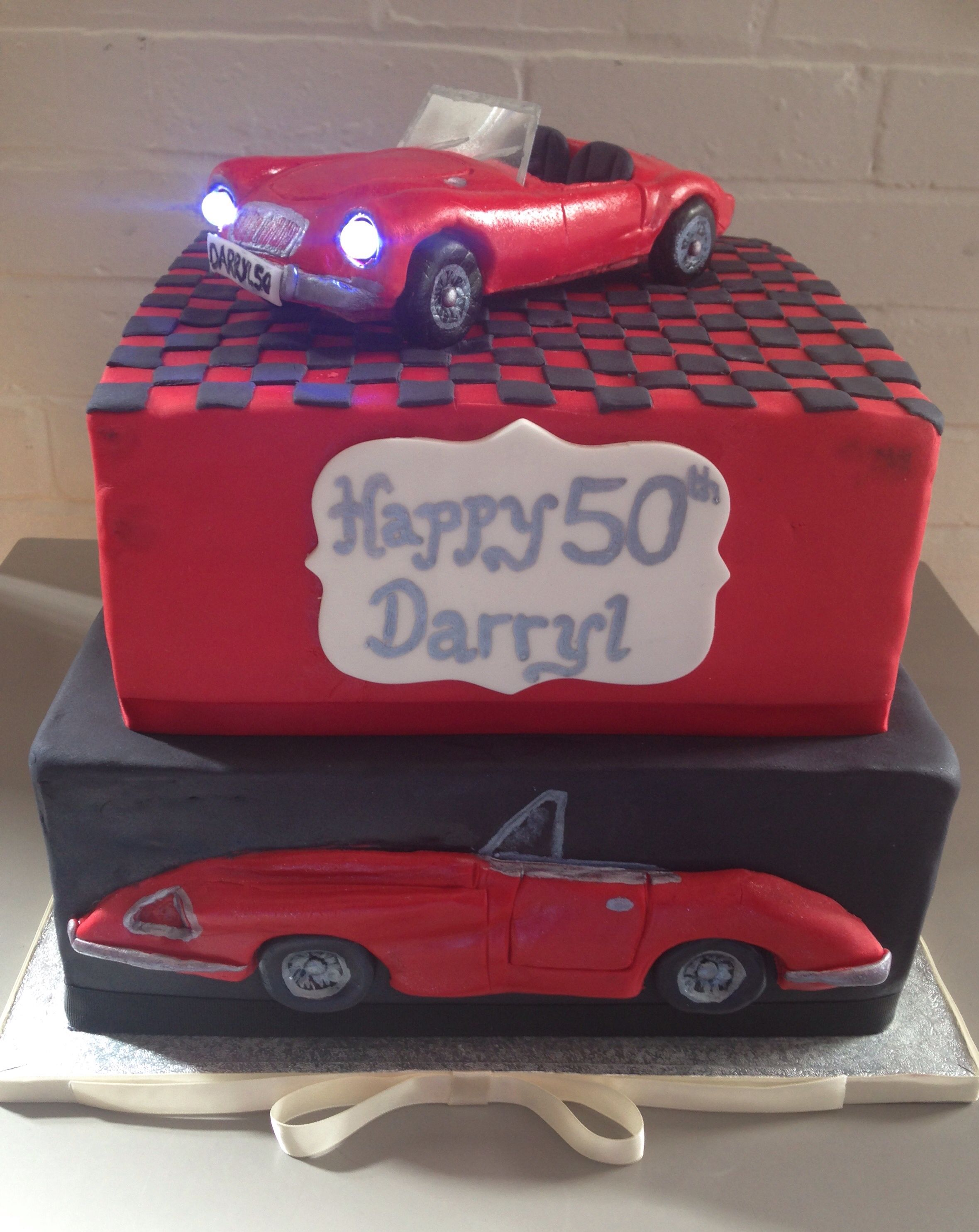 Classic Car Cake With Images Cars Birthday Cake 50th Birthday
