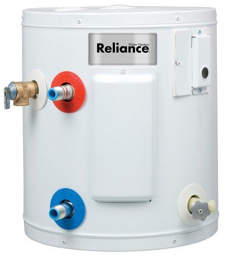 Reliance 6 6 Soms K 6 Gallon Compact Electric Water Heater Rv Water Heater Electric Water Heater Hot Water Heater