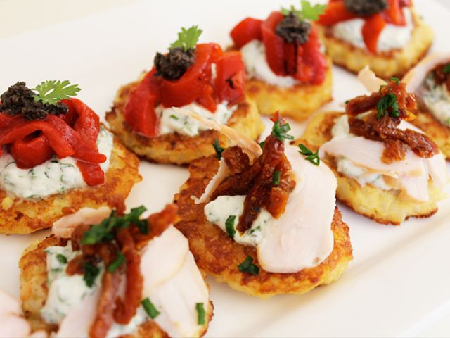 Make Ahead Finger Food: Mini Risotto Cakes http://bit.ly/ygurUe