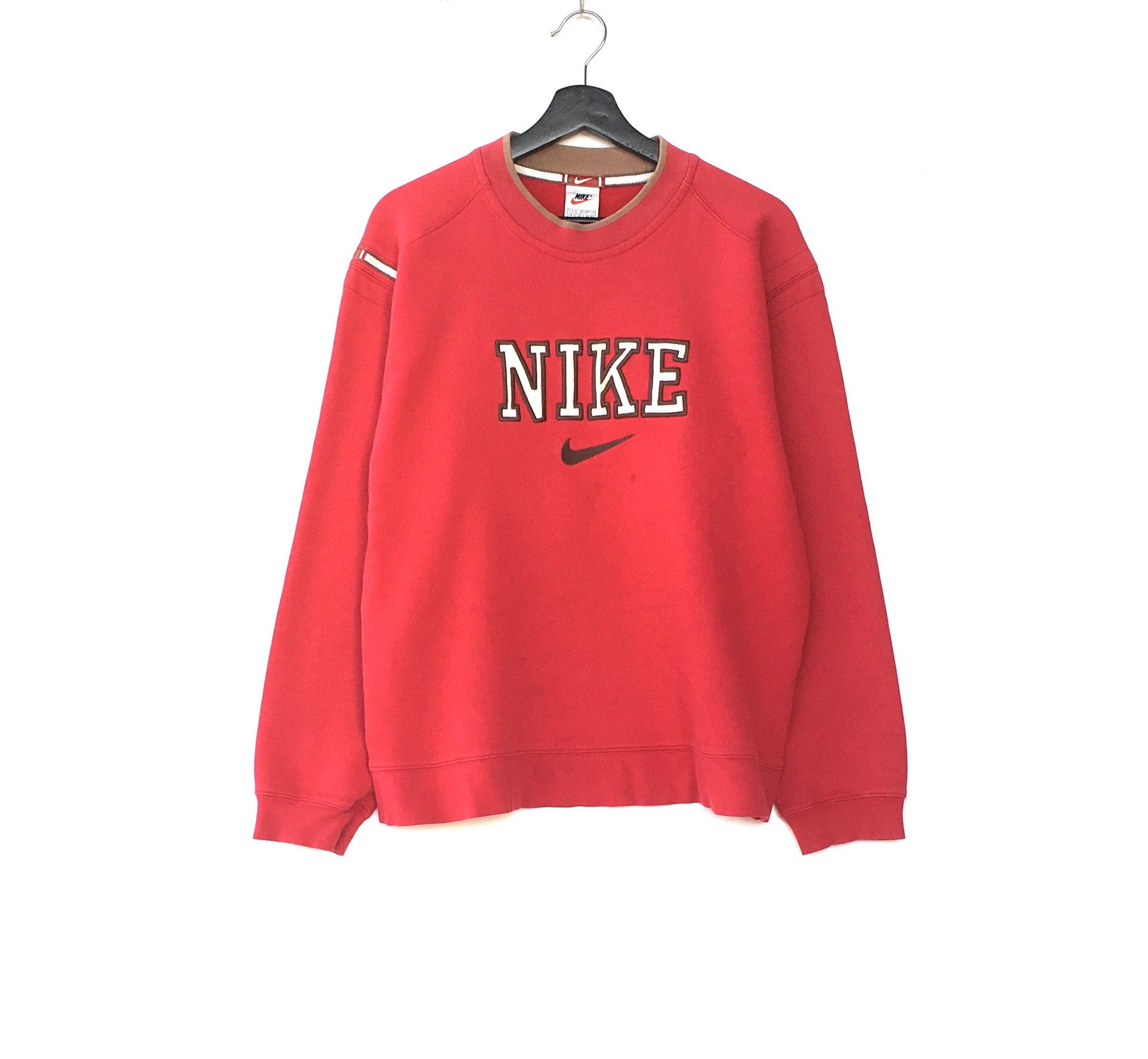 1ae389ec76a5 Excited to share the latest addition to my  etsy shop  Rare!! Vintage NIKE  spellout Big Logo Men Clothing Sweatshirt Pullover Jumper Sportwear  Activewear ...