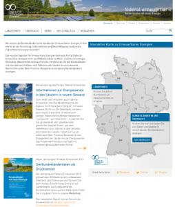 Bundesländerportal zu erneuerbaren Energien mit mehr Inhalten und neuer Optik