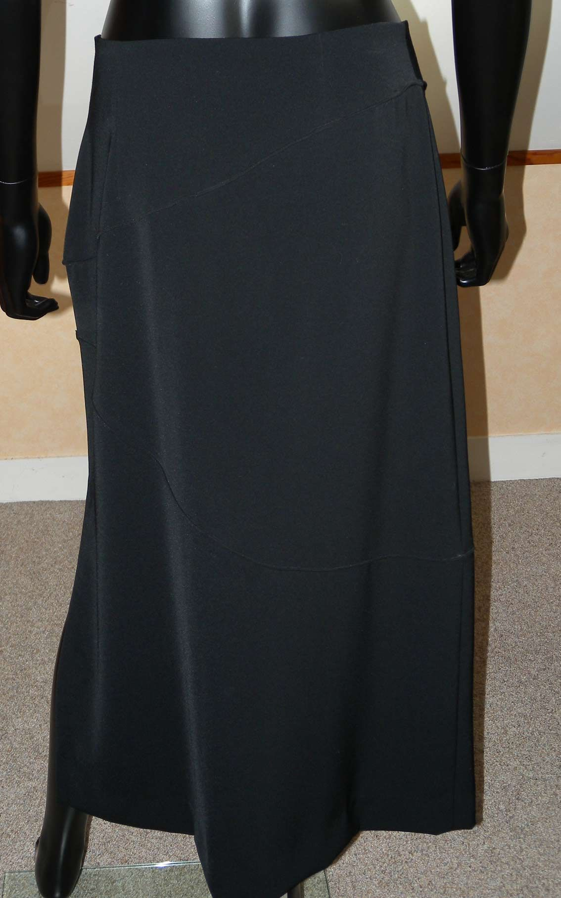 miss torrente jupe longue droite noire mode vintage femme pinterest. Black Bedroom Furniture Sets. Home Design Ideas