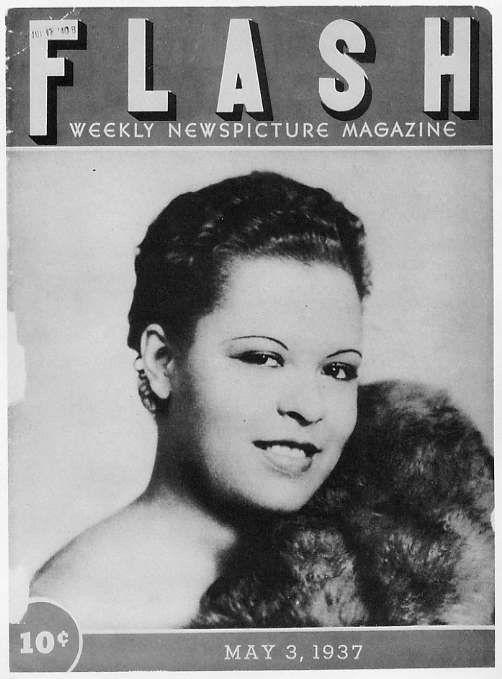 Flash magazine featuring Billie Holiday