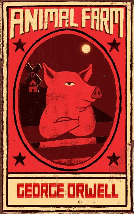 Animal Farm | Illustrator: Paul Thurlby - http://www.paulthurlby.com 0> George Orwell
