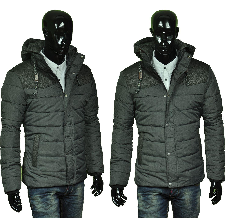Kurtka Meska Pikowana Rg 606b Sz Winter Jackets Street Style Jackets