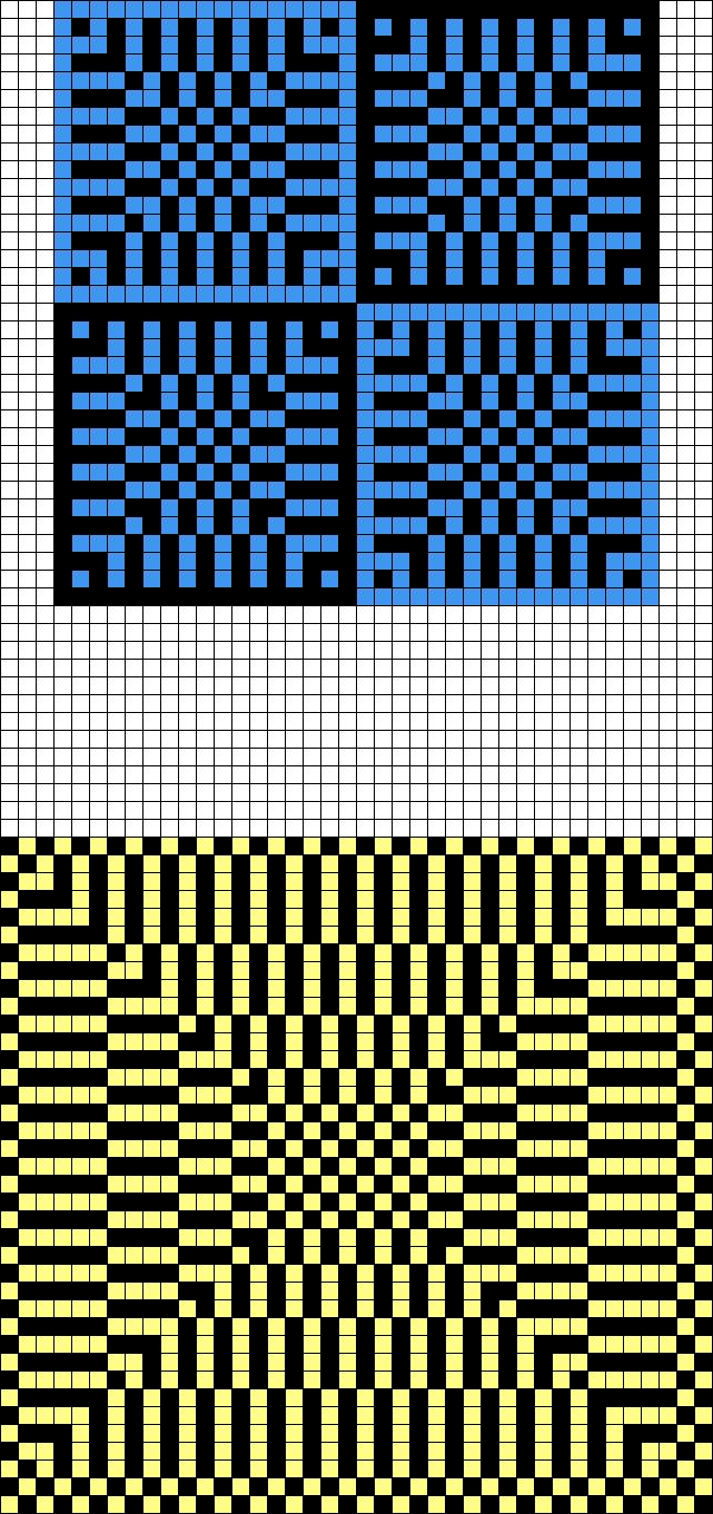 v182 - Grid Paint | ideat neuleet 09 - knitting ideas 09 | Pinterest ...