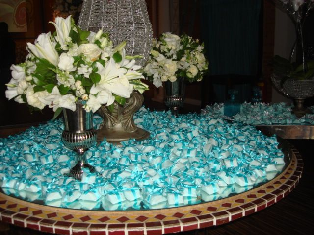 decoracao mesa casamento tiffany - Google Search
