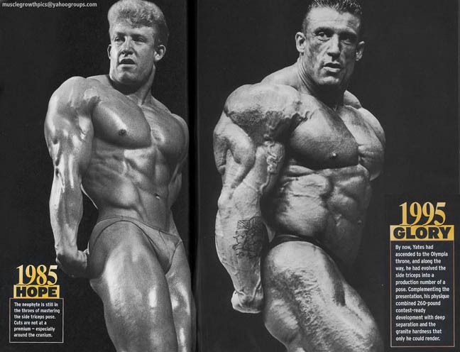 Dorian Yates And The Birth Of Human Growth Hormone Hgh Dorian Yates Bodybuilding Transformation Bodybuilding