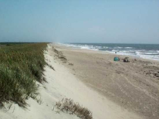 Ocracoke and nude