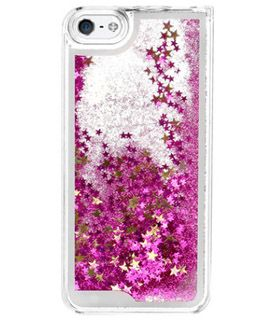 low priced aa8b8 0a741 pink glitter water cell phone case | Fashion | Pink phone cases ...