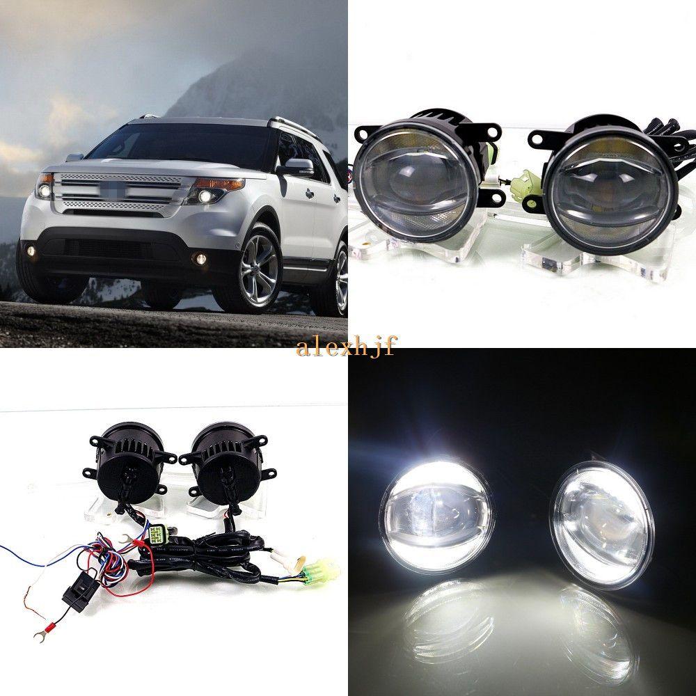July King 1600lm 24w 6000k Led Light Guide Q5 Lens Fog Lamp