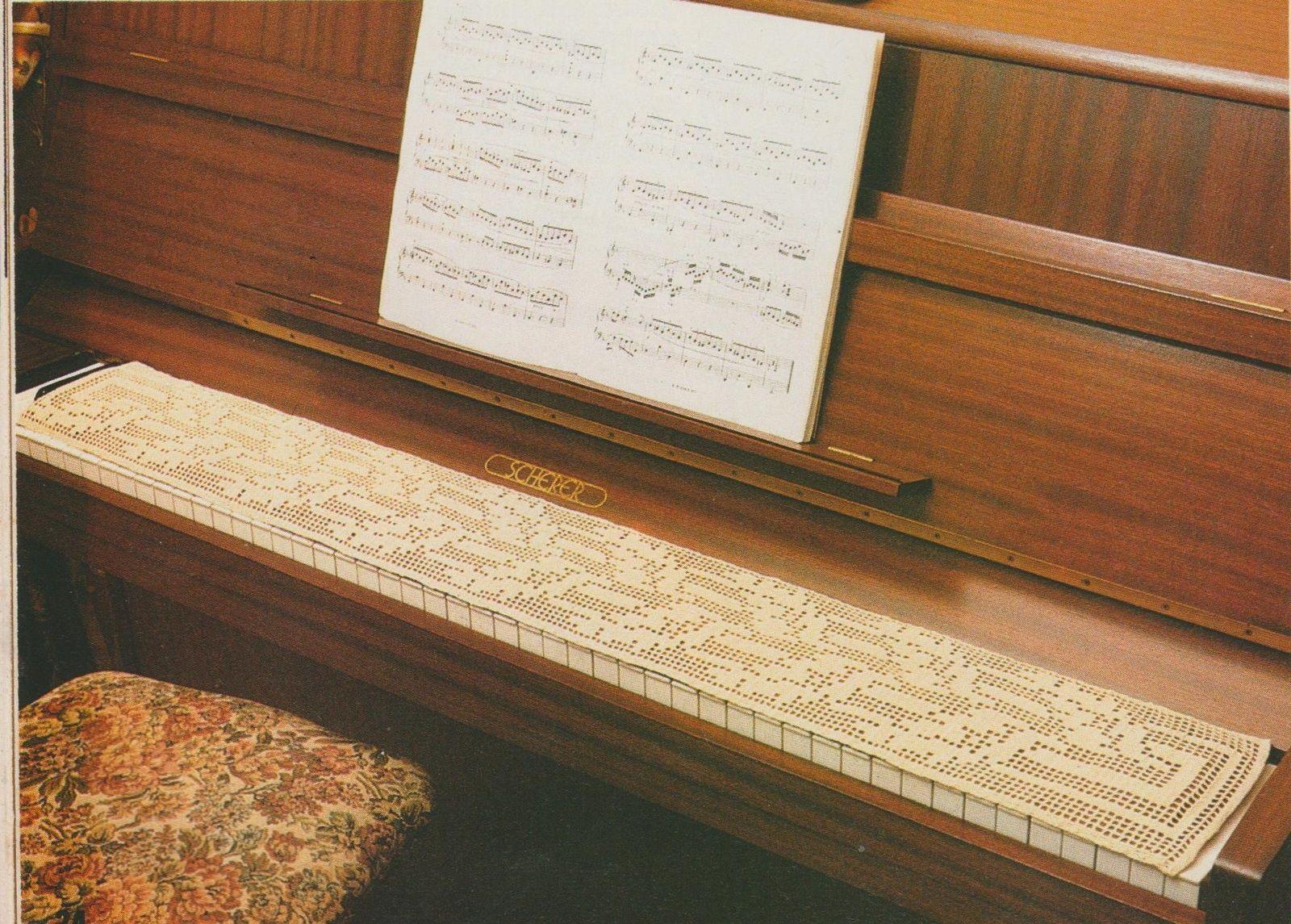 Crochet Protege Clavier De Piano Tutoriel Gratuit Clavier De Piano Tutoriel Piano