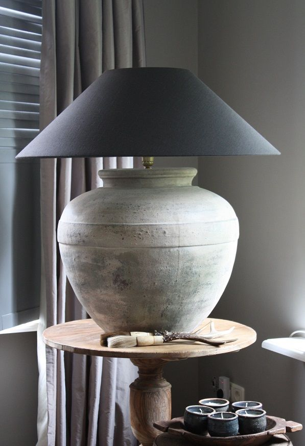 Love this gray lamp I have one very similar