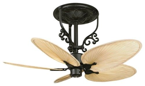 I Love These Indian Style Leaf Ceiling Fans So 1920s