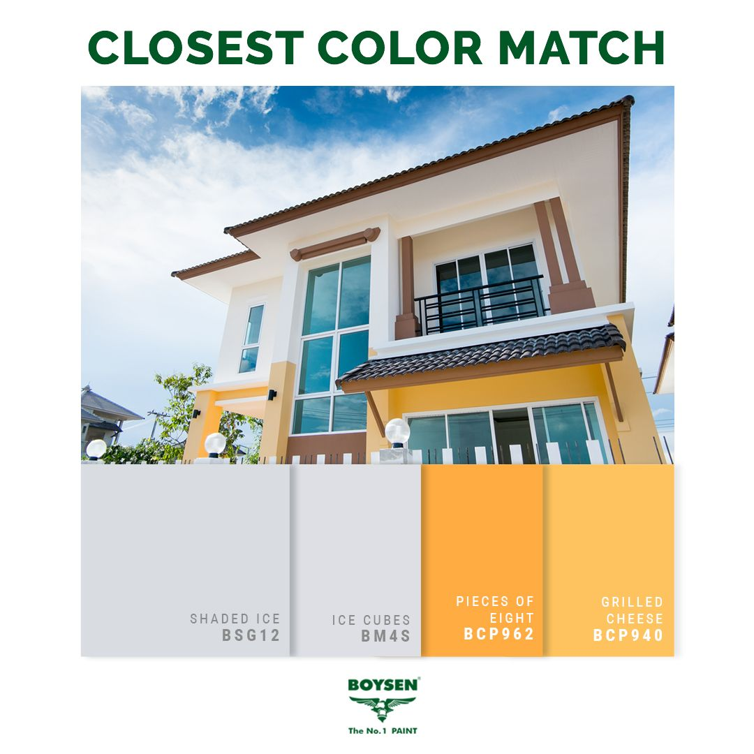 Two Tone Color Scheme For Exterior Walls An Easy Way To Tastefully Upgrade Your Home Exterior Is To Go F House Colors House Color Schemes House Paint Exterior