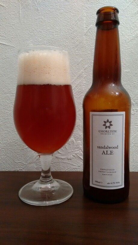 Sandalwood Ale from Chorlton Brewing Co  The smell is something new