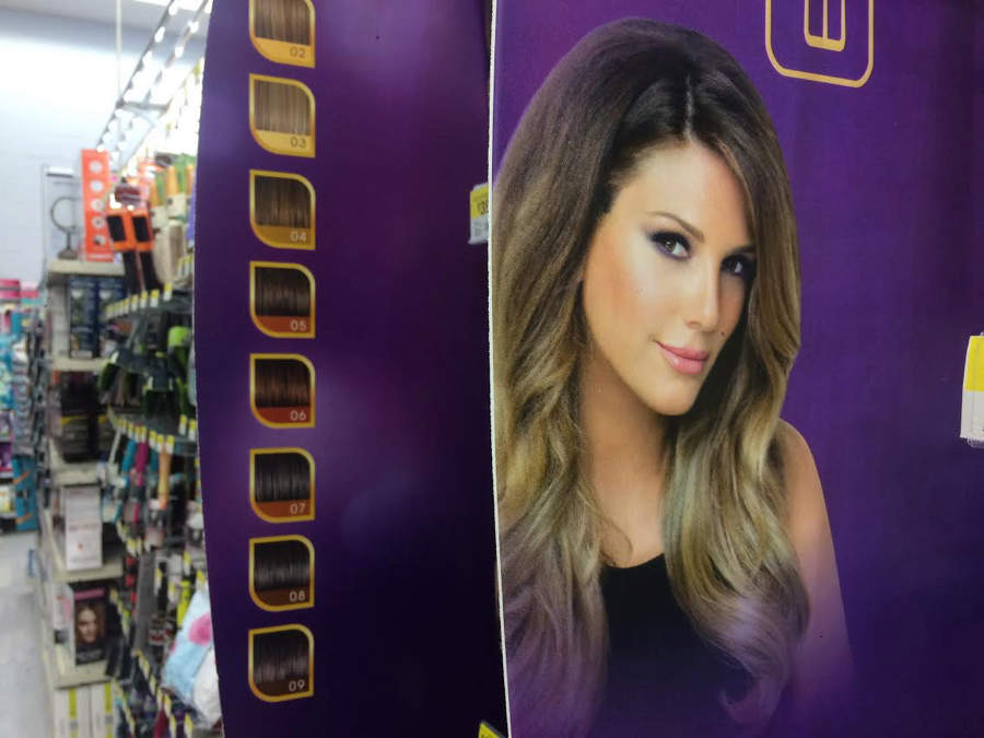 Have you spotted secretextensions at walmart daisyfuentes hair pmusecretfo Image collections