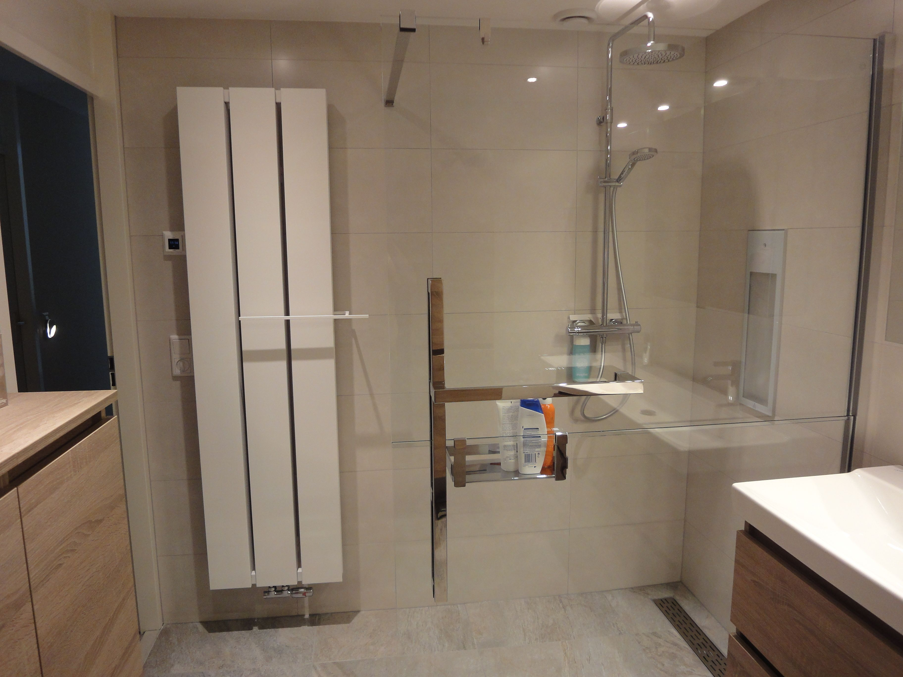 gerealiseerde badkamer door sanidrome thijssen uit deurne met o a