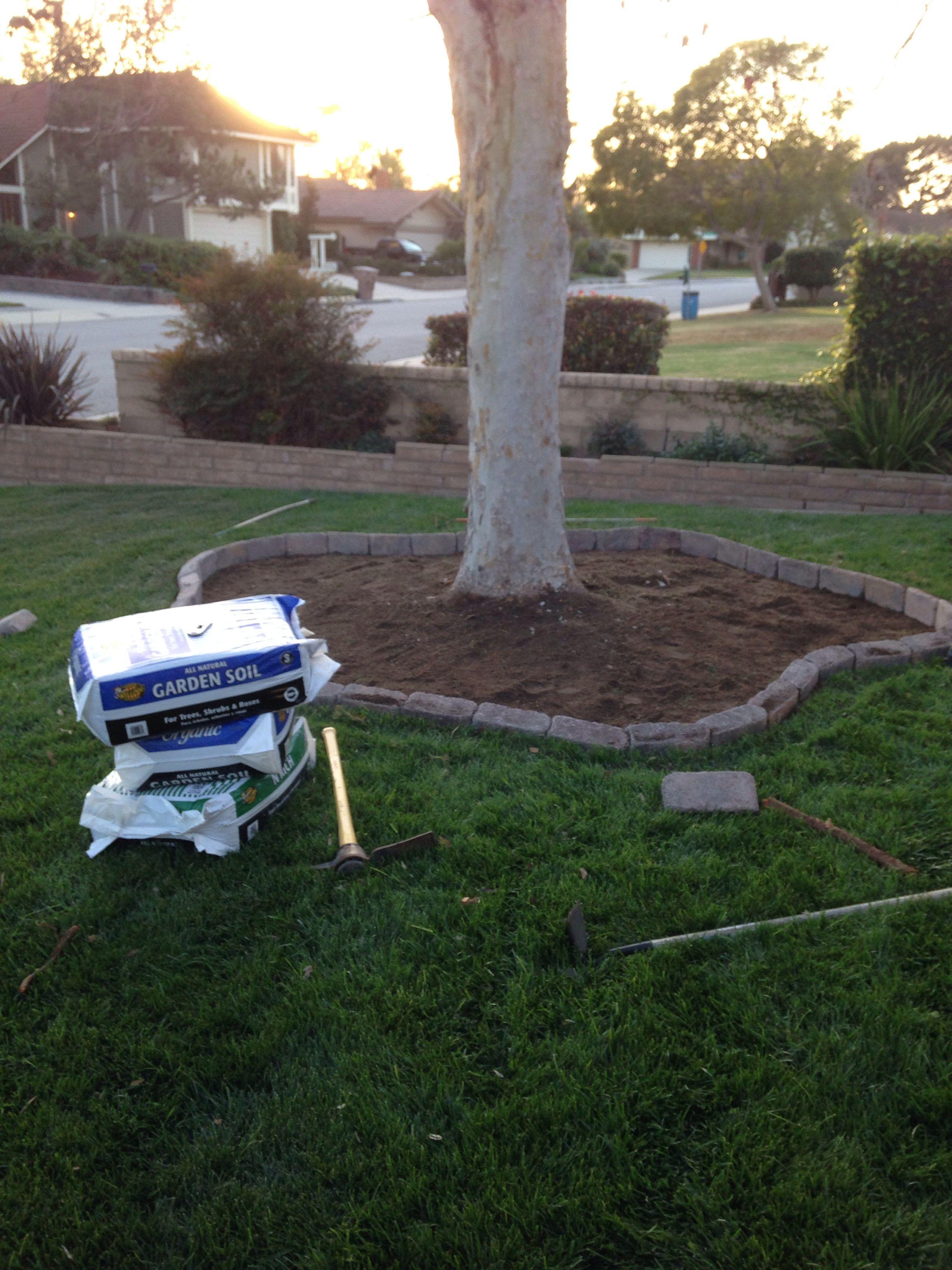 Add some new garden soil