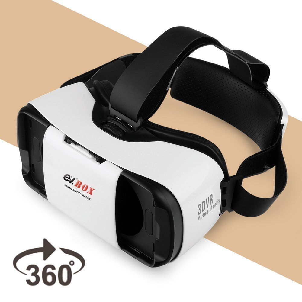 3d Vr Headset Ev Virtual Reality Glasses 3d Movie Game Box For Iphone Android Apple Samsung Htc Lg Vr Headset Virtual Reality Glasses Virtual Reality