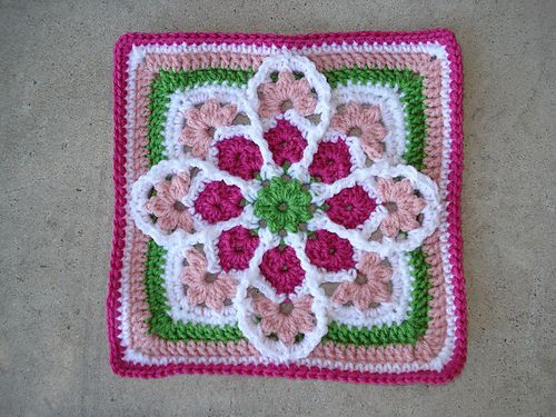 JulieAnny\'s Stained Glass Afghan Square pattern by Julie Yeager ...