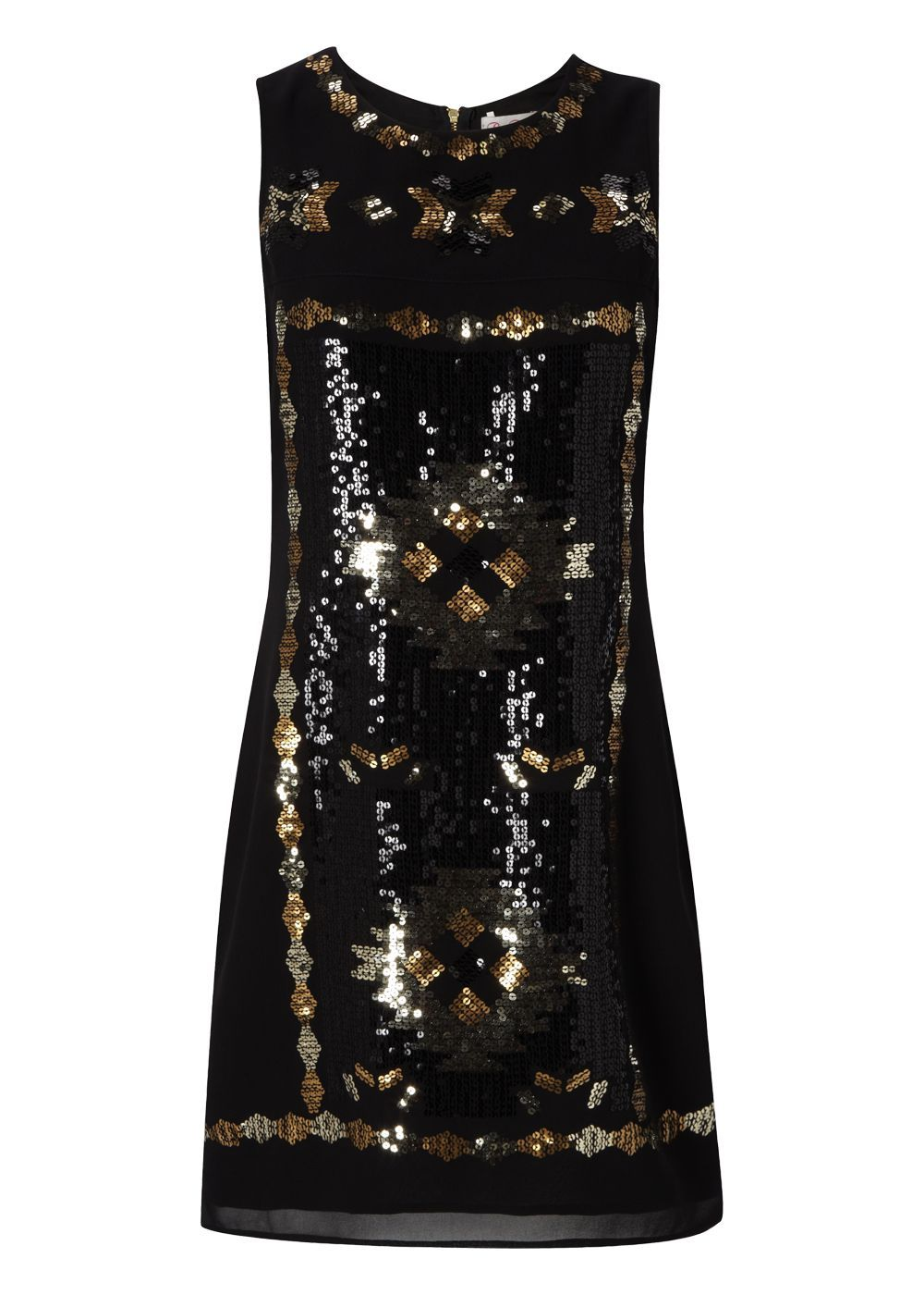 5f40d527 Matalan - Be Beau Aztec Sequin Front Dress | fashion industry ...