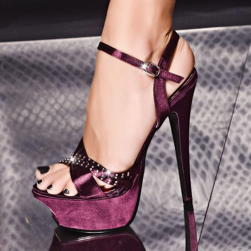 sexy high heels | Sexy Heels | Pinterest | Sexy Satin and Beautiful