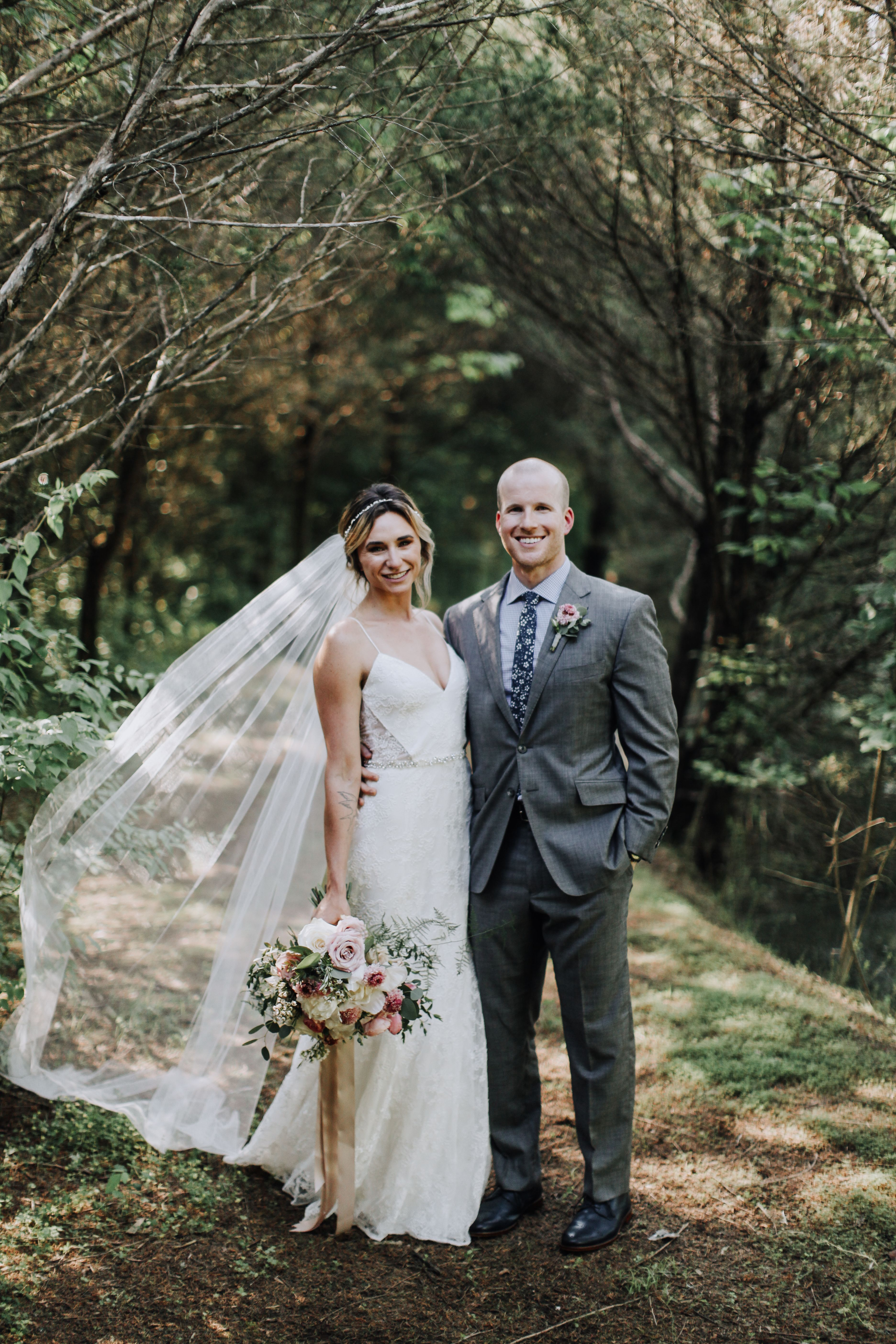 Nature wedding dress  Our amazing nature preserve is the perfect place for a happy Bride