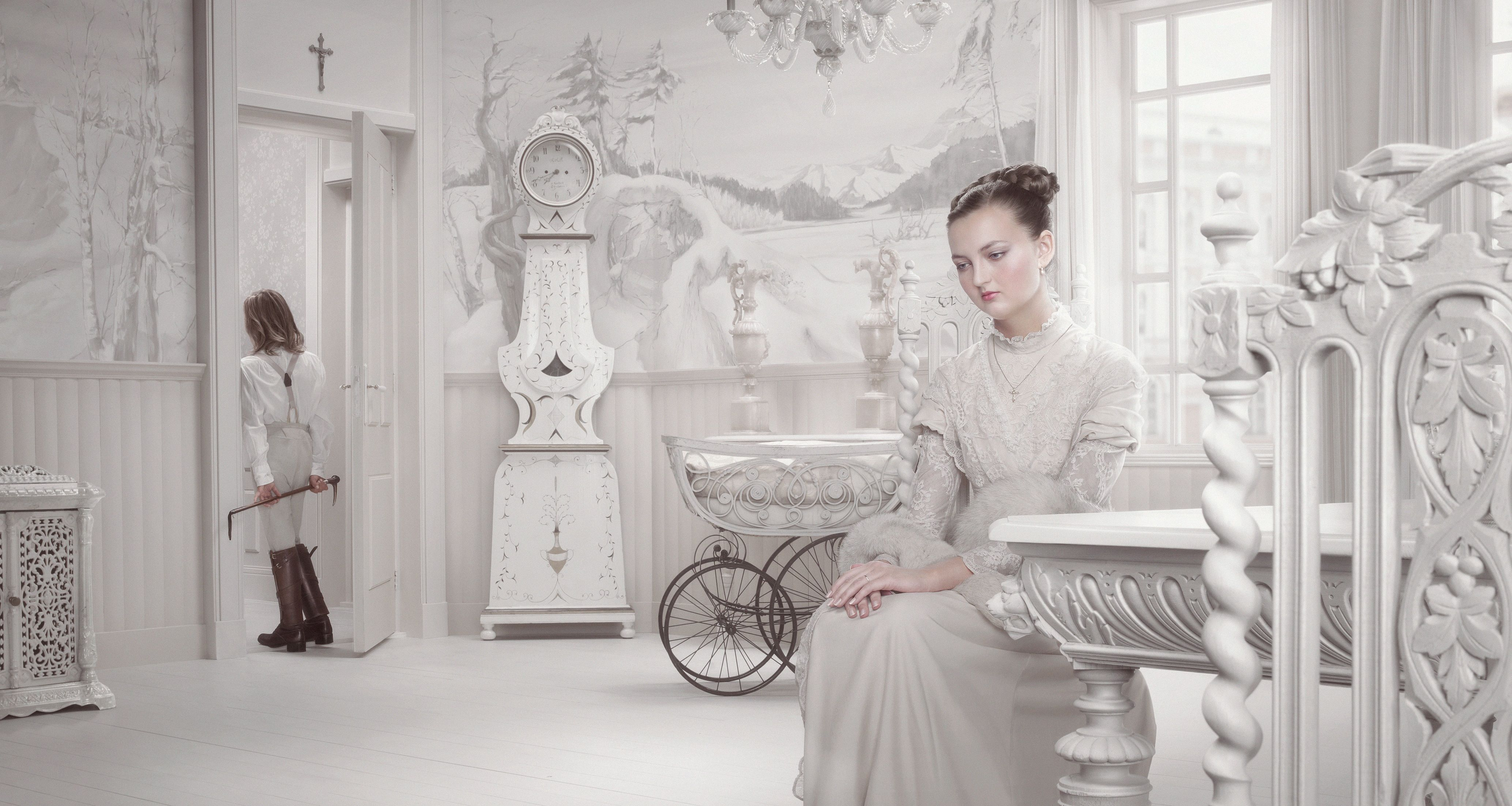 Dawn The Mother By Erwin Olaf Part Of His Dusk Dawn Series