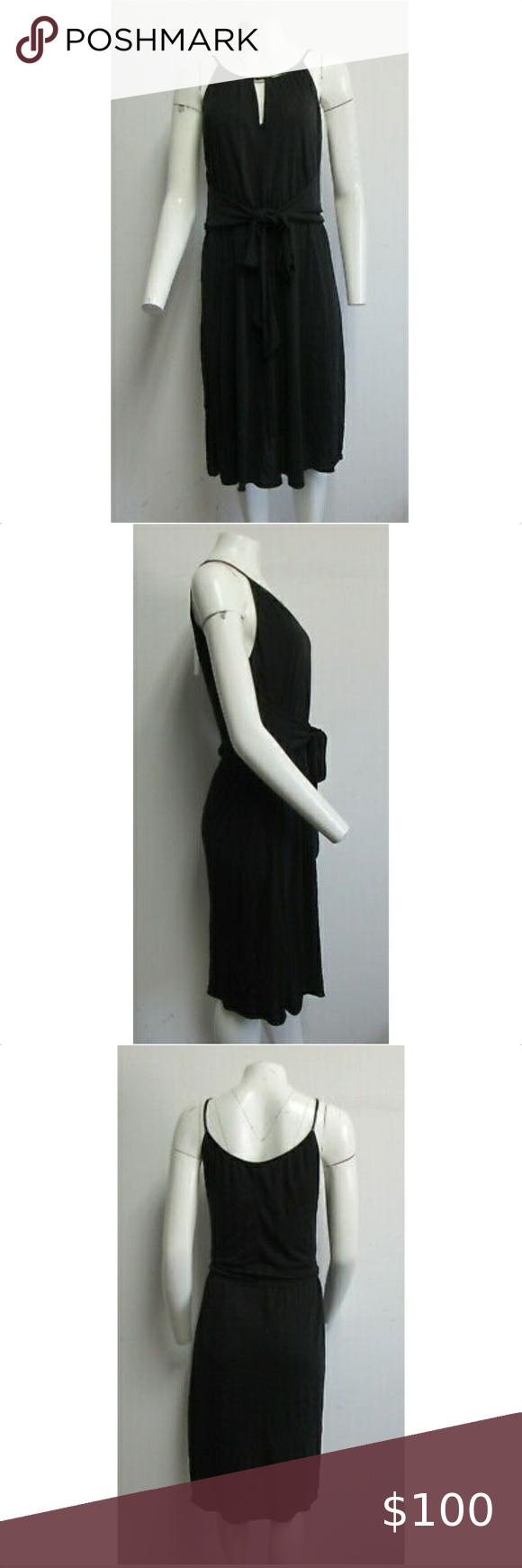 Elie Tahari 348 Black Tie Front Cocktail Dress Elie Tahari Cocktail Dress Elie Tahari Dresses [ 1740 x 580 Pixel ]