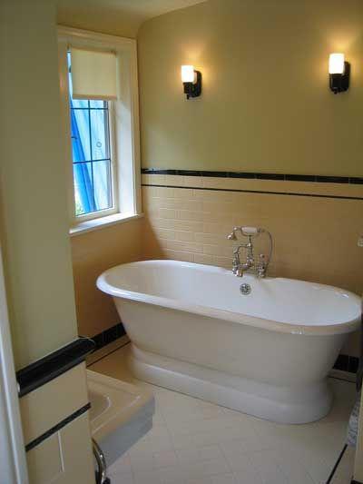 Amazing Baths. 1920s BathroomArt Deco ...