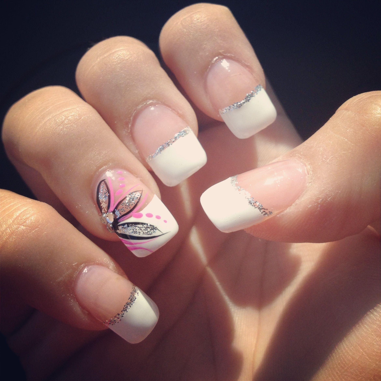 Nails, French Tip, Design | Nails | Pinterest | Nail french, Nail ...