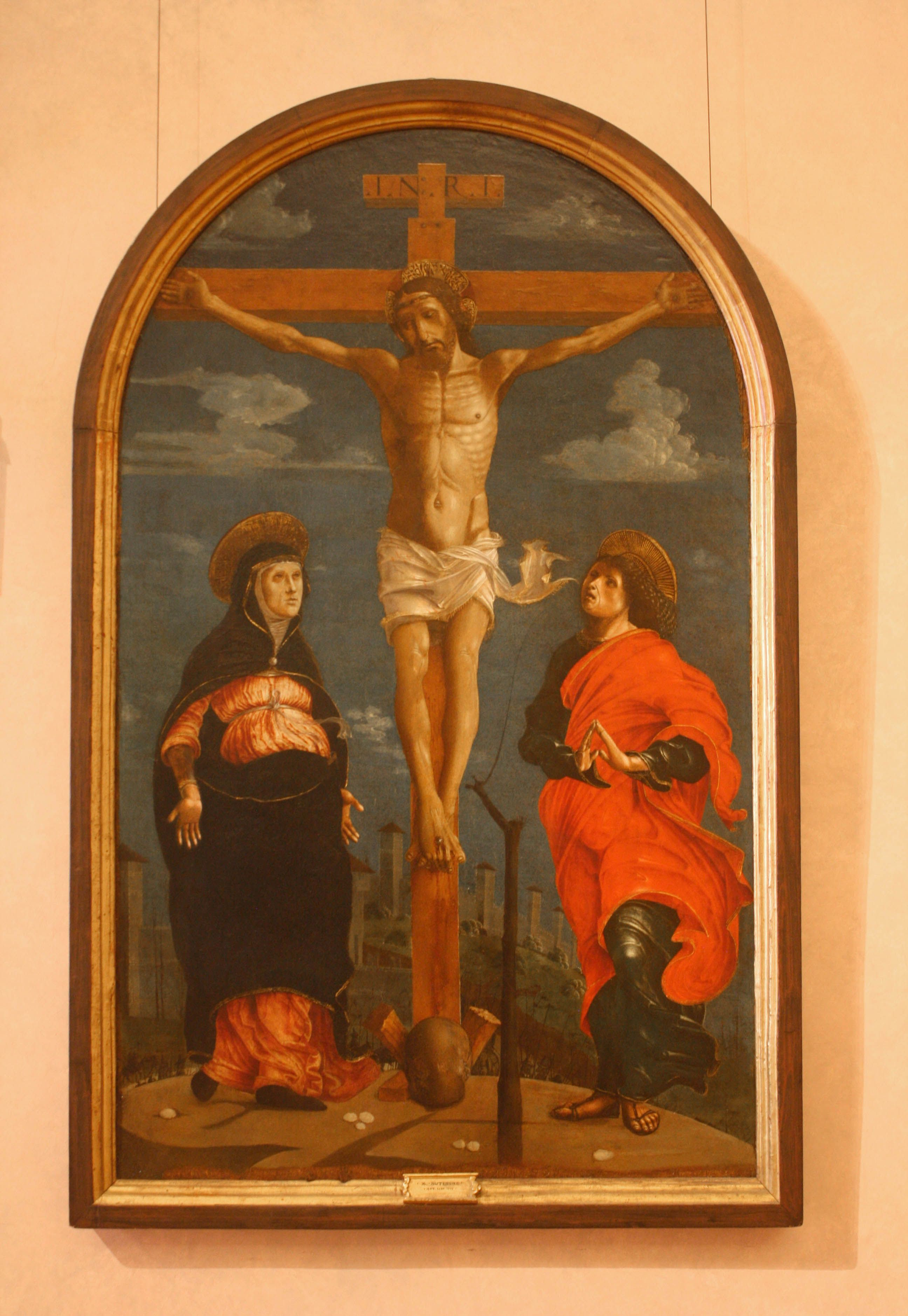 National Gallery of Antique Art, Rome, Italy www.stephentravels.com/top5/crucifixes