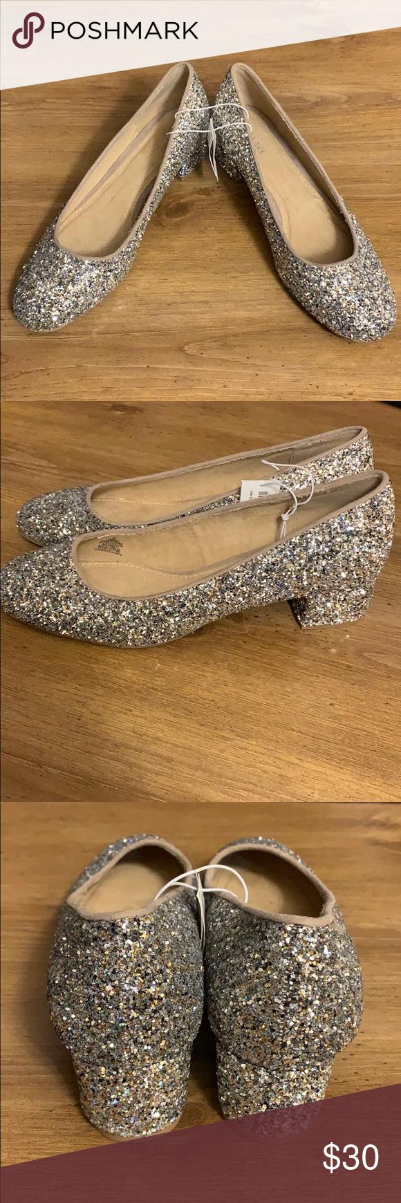 Old Navy sparkly glitter heels Brand