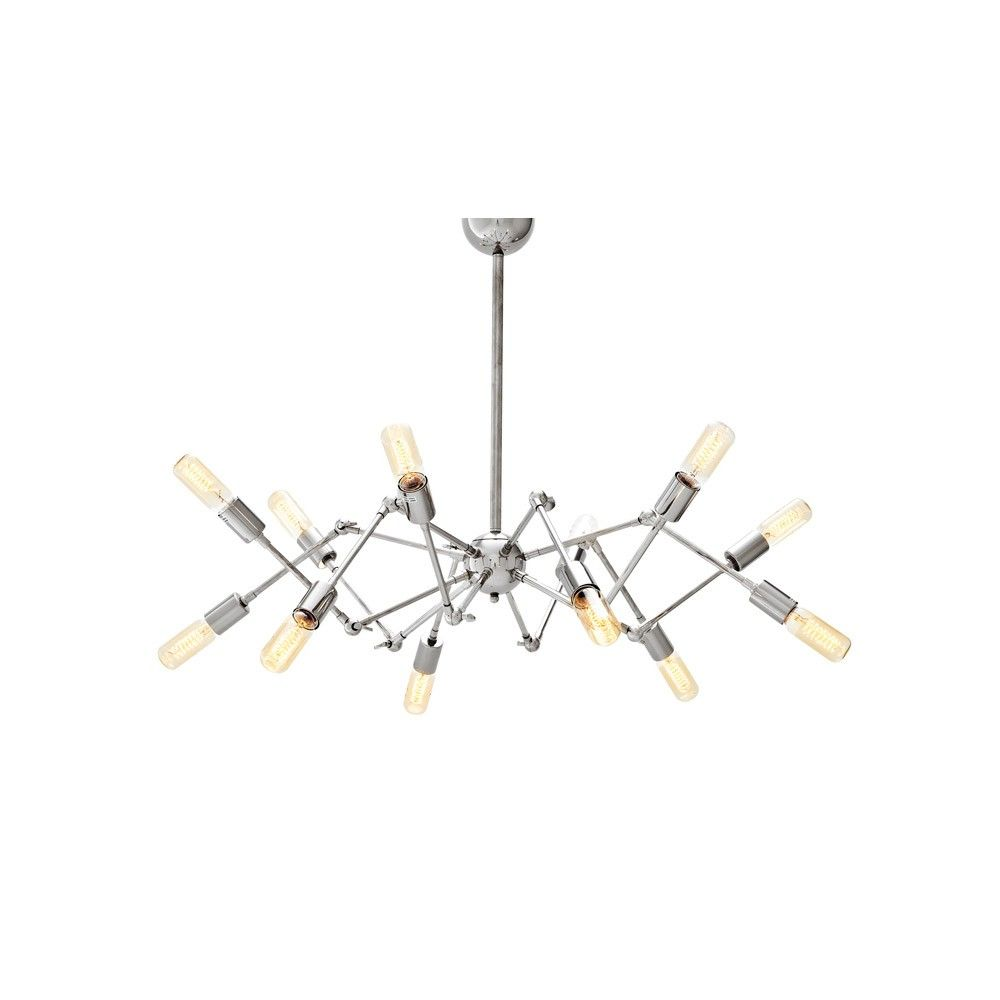 Eichholtz spider ceiling light 12 nickel ceiling industrial eichholtz spider ceiling light 12 nickel aloadofball Image collections
