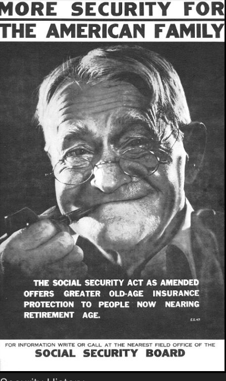 Social Security Is Part Of The New Deal Program That Is Money