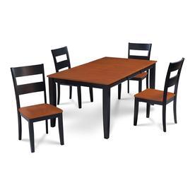 Stupendous Md Furniture Sunderland Black Cherry Dining Set With Dining Inzonedesignstudio Interior Chair Design Inzonedesignstudiocom