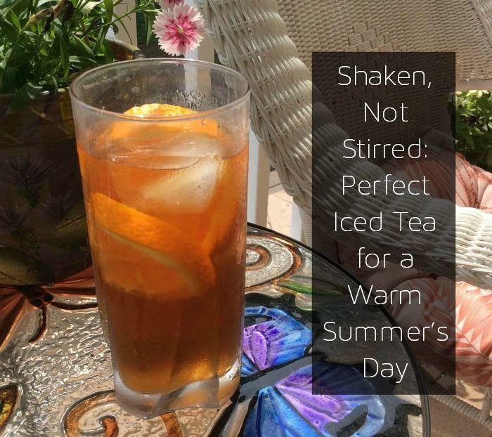 How To Make Iced Tea With Loose Leaf Tea Making Iced Tea Iced