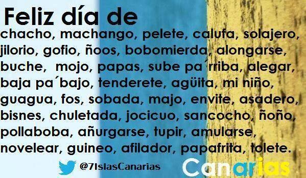 Tufrasecanaria Feliz Día De Canarias Día De Canarias