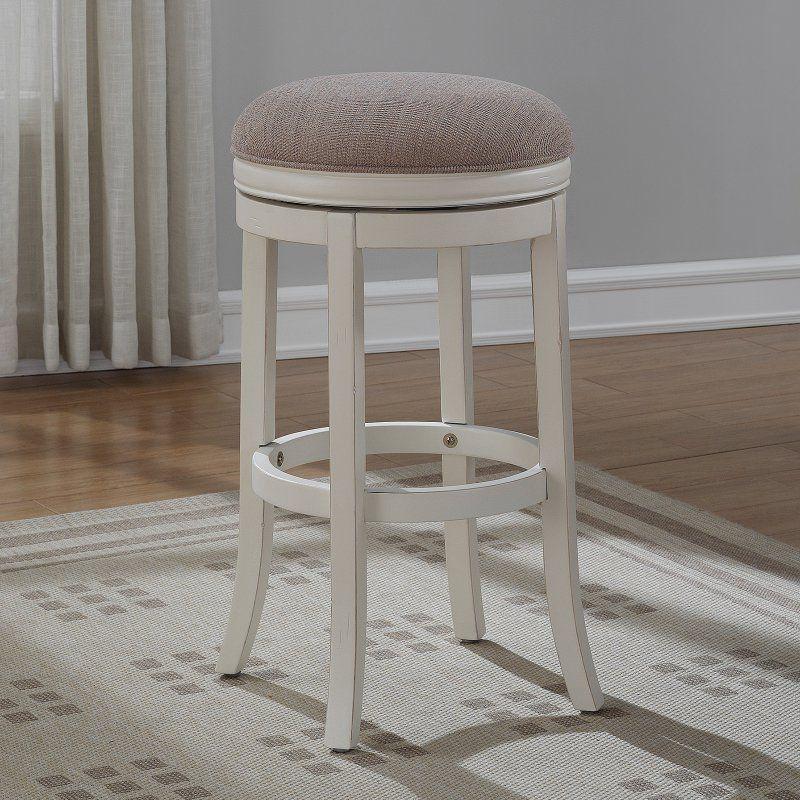 Swell American Woodcrafters Aversa Backless Swivel Bar Stool B2 Bralicious Painted Fabric Chair Ideas Braliciousco