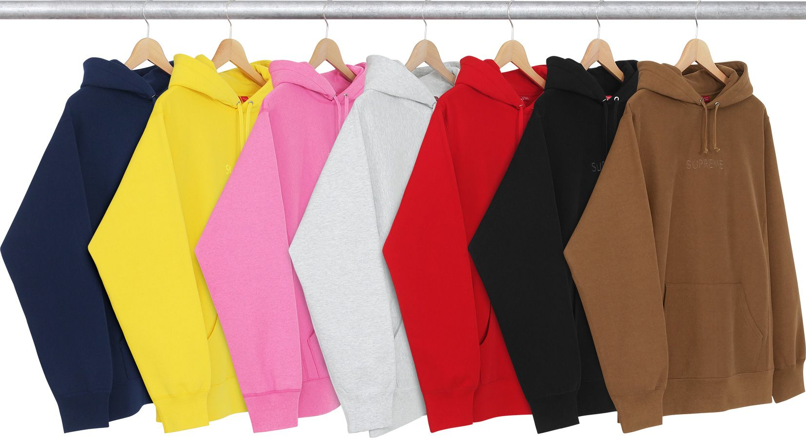 Supreme Tonal Embroidered Hooded Sweatshirt  f581d73deca7
