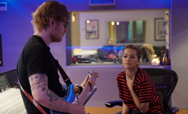 Rita Ora collaborates with Ed Sheeran