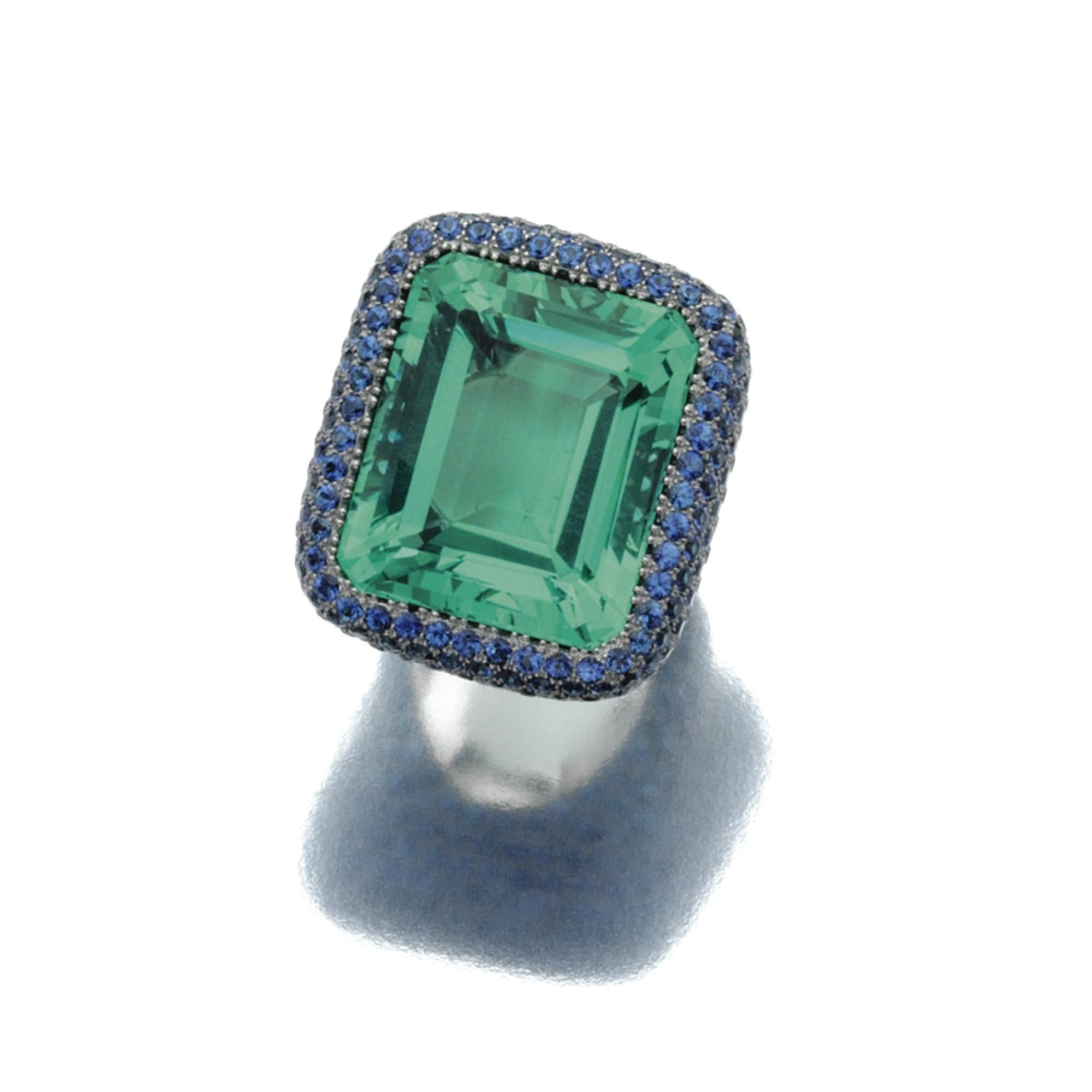 rings brand big silver green fluorite diamond for apatite pin jewelry tourmaline sterling engagemet women hutang