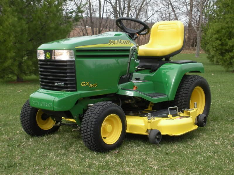 John deere 345 google search cars pinterest tractors lawn mower and vehicles for Bairs lawn and garden