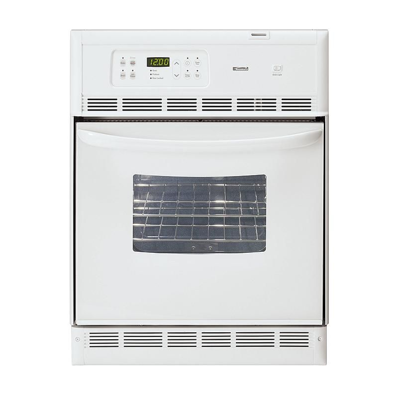 Kenmore 40452 24 Self Cleaning Wall Oven Cleaning Walls Wall